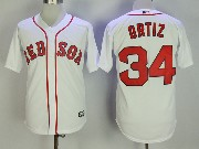 Mens Majestic Boston Red Sox #34 David Ortiz White Cool Base Jersey