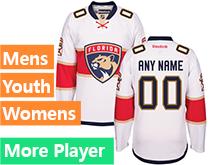 Mens Reebok Florida Panthers White Away 2016 Premier Jersey