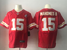 Mens Nfl Kansas City Chiefs #15 Patrick Mahomes Ii Red Elite Jersey