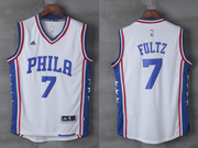 Mens Nba Philadelphia 76ers #7 Markelle Fultz Home White Jersey