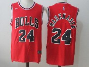 Mens Nba Chicago Bulls #24 Lauri Markkanen Bulls Red Nike Jersey