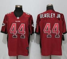 Mens Nfl Nike Atlanta Falcons #44 Vic Beasley Red Drift Fashion Elite Jerseys