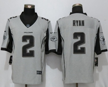 Mens Nfl New Nike Atlanta Falcons #2 Matt Ryan Gridiron Gray Ii Limited Jersey