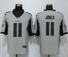 Mens Nfl New Nike Atlanta Falcons #11 Julio Jones Gridiron Gray Ii Limited Jersey