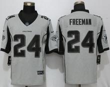 Mens Nfl New Nike Atlanta Falcons #24 Devonta Freeman Gridiron Gray Ii Limited Jersey