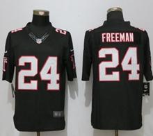 Mens New Nike Atlanta Falcons #24 Devonta Freeman Black Limited Jersey