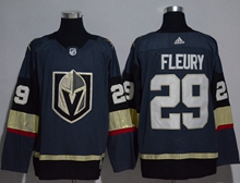 Mens Adidas Vegas Golden Knights #29 Marc-andre Fleury Blue Hockey Jersey