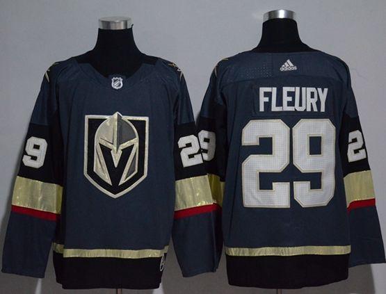 Mens Adidas Vegas Golden Knights #29 Marc-andre Fleury Blue Hockey Jersey