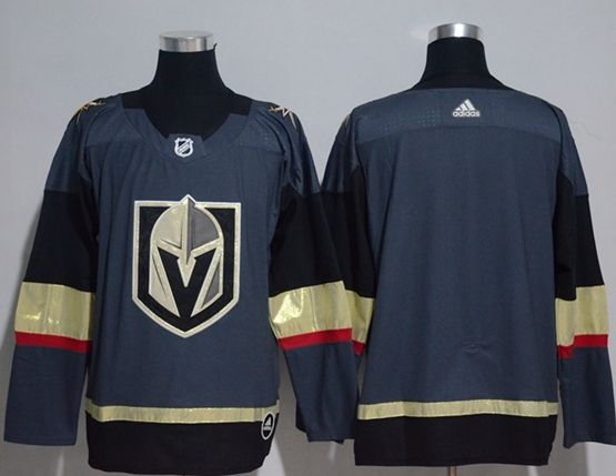 Mens Adidas Vegas Golden Knights Blank Blue Hockey Jersey