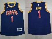 Mens Nba Cleveland Cavaliers #1 Derrick Rose Blue Alternate Cavs Jersey