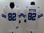 Mens Dallas Cowboys #82 Jason Witten White Vapor Untouchable Limited Jersey