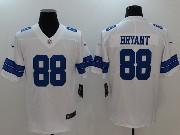 Mens Dallas Cowboys #88 Dez Bryant White Vapor Untouchable Limited Jersey