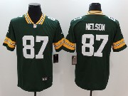 Mens Nfl Green Bay Packers #87 Jordy Nelson Green Vapor Untouchable Limited Jersey