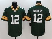 Mens Nfl Green Bay Packers #12 Aaron Rodgers Green Vapor Untouchable Limited Jersey