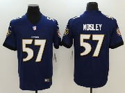 Mens Nfl Baltimore Ravens #57 C.j. Mosley Purple Vapor Untouchable Limited Jersey