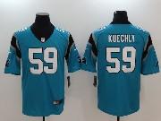 Mens Nfl Carolina Panthers #59 Luke Kuechly Blue Vapor Untouchable Limited Jersey