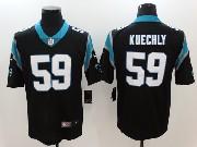 Mens Nfl Carolina Panthers #59 Luke Kuechly Black Vapor Untouchable Limited Jersey