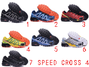 Mens Salomon Speed Cross 4 Running Shoes Many Color