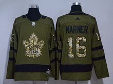 Mens Adidas Nhl Toronto Maple Leafs #16 Mitchell Marner Green Hockey Jersey