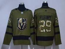 Mens Adidas Vegas Golden Knights #29 Marc-andre Fleury Green Hockey Jersey