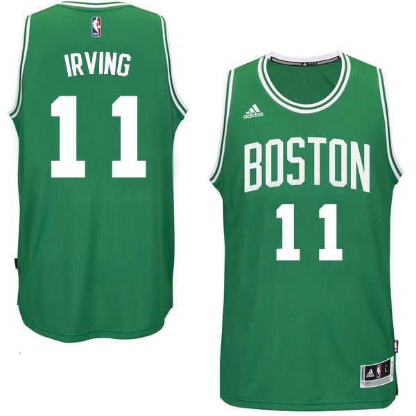 f3a3b2eed444 nike boston celtics 11 kyrie irving green womens nba swingman icon ...