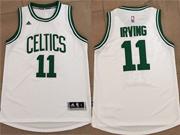 Mens Nba Boston Celtics #11 Kyrie Irving White Home Jersey