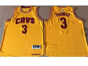 Mens Nba Cleveland Cavaliers #3 Isaiah Thomas Gold Alternate Cavs Jersey