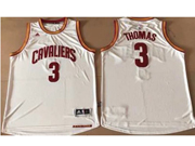 Mens Nba Cleveland Cavaliers #3 Isaiah Thomas Home White Jersey