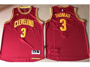 Mens Nba Cleveland Cavaliers #3 Isaiah Thomas Red Road Cleveland Jersey