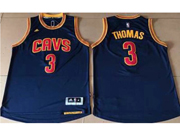 Mens Nba Cleveland Cavaliers #3 Isaiah Thomas Dark Blue Cavs Jersey