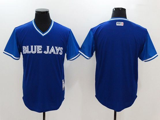 Mens Mlb Toronto Blue Jays ( Blank) Majestic Royal 2017 Players Weekend Authentic Jersey