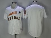 Mens Mlb Houston Astros Blank White Cool Base Jersey
