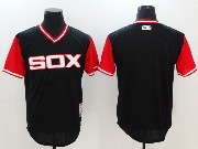 Mens Mlb Chicago White Sox Blank Black 2017 Players Weekend Jersey