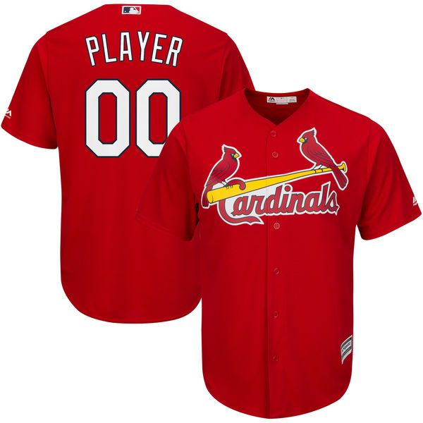Mens Womens Youth Majestic St. Louis Cardinals Red Cool Base Jersey