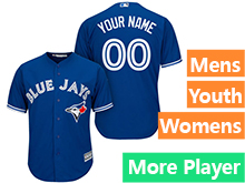Majestic Toronto Blue Jays Blue Cool Base Jersey