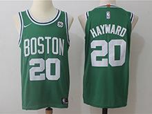 Mens Nba Boston Celtics #20 Gordon Hayward Green Nike Jersey