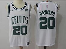 Mens Nba Boston Celtics #20 Gordon Hayward White Nike Jersey