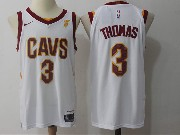 Mens Nba Cleveland Cavaliers #3 Isaiah Thomas Home White Nike Jersey