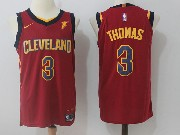 Mens Nba Cleveland Cavaliers #3 Isaiah Thomas Red Road Nike Jersey