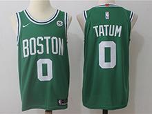 Mens Nba Boston Celtics #0 Jayson Tatum Green Nike Jersey