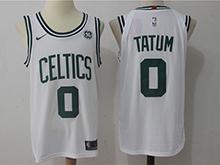 Mens Nba Boston Celtics #0 Jayson Tatum White Nike Jersey