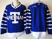 Mens Nhl Toronto Maple Leafs Blank Big T Blue Home Hockey Adidas Jersey