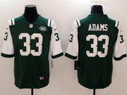 Mens New York Jets #33 Jamal Adams Green Vapor Untouchable Limited Jersey