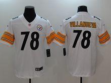 Mens Nfl Pittsburgh Steelers #78 Alejandro Villanueva White Vapor Untouchable Limited Jersey