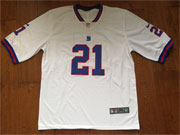 Mens New York Giants #21 Landon Collins White Color Rush Limited Jersey