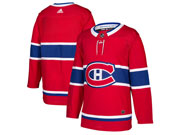 Mens Adidas Montreal Canadiens Balnk Red Home Premier Jersey