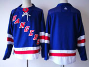 Mens Nhl New York Rangers Blank Blue Home Premier Adidas Jersey
