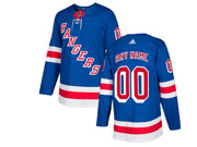 Mens Nhl New York Rangers Custom Made Blue Home Premier Adidas Jersey
