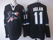 Mens Nhl San Jose Sharks #11 Nolan Black Jersey