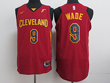Mens Nba Cleveland Cavaliers #9 Dwyane Wade Red Nike Jersey
